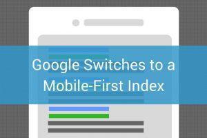 Google's Moblie-first index