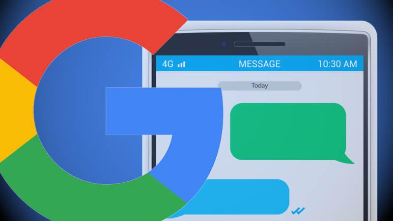 google my business message